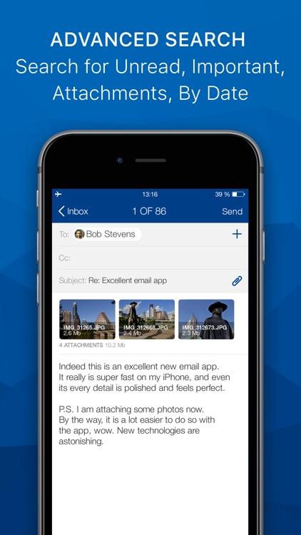 Email App - Easy & Fast mail screenshot-3