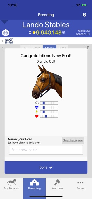 Off and Pacing: Horse Racing on the App Store