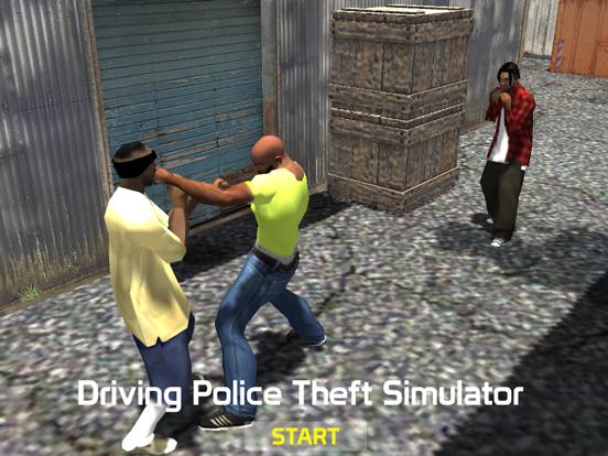 Driving police theft simulator screenshot 6