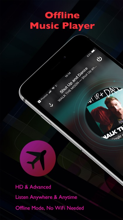 Offline Music Player of Clouds by Arthur Davis