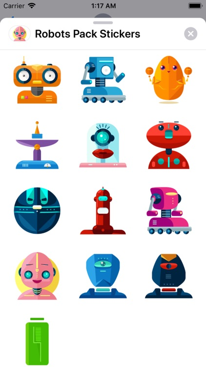 Robots Pack Stickers