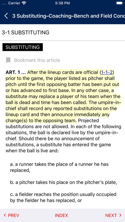 NFHS Rules screenshot-2