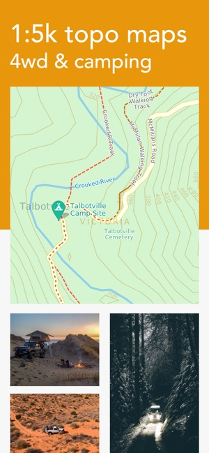 4wd Map Of Australia.Billy Goat Offroad On The App Store