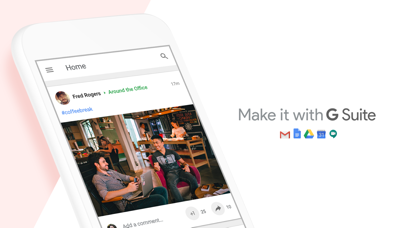 Screenshot for Google+ for G Suite in Canada App Store