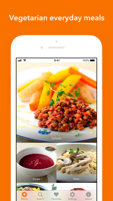 Veggie MealsScreenshot of 1