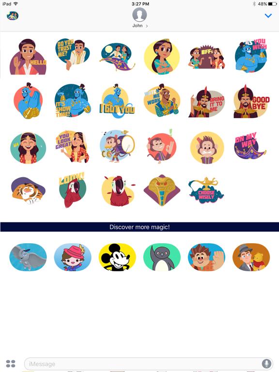Disney Stickers: Aladdin screenshot 6