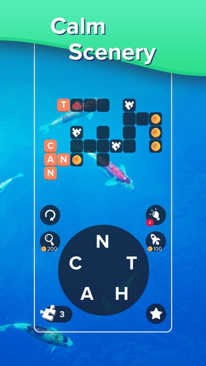 Puzzlescapes: Word Puzzle Game screenshot-4