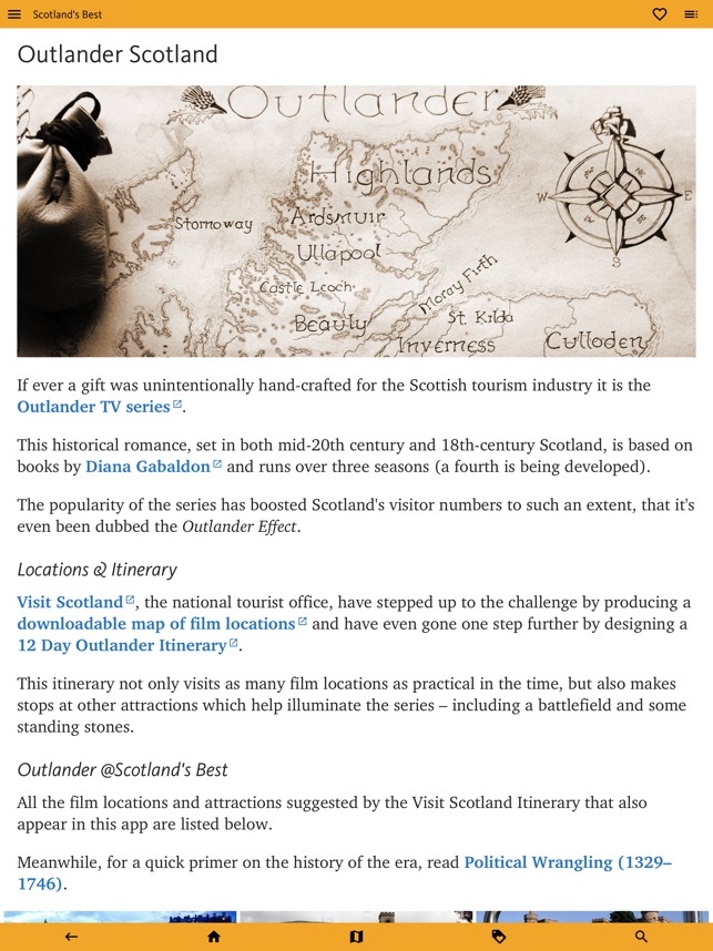 Scotland's Best: Travel Guide on the App Store