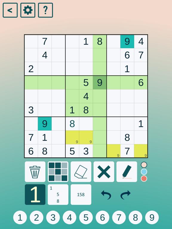 Classic Sudoku! screenshot 2