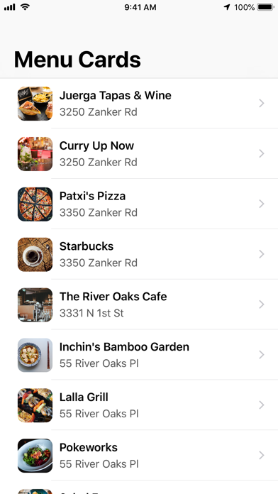 Screenshot for Chego in United States App Store