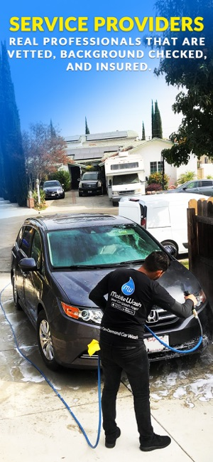 Mobilewash Car Wash On Demand On The App Store