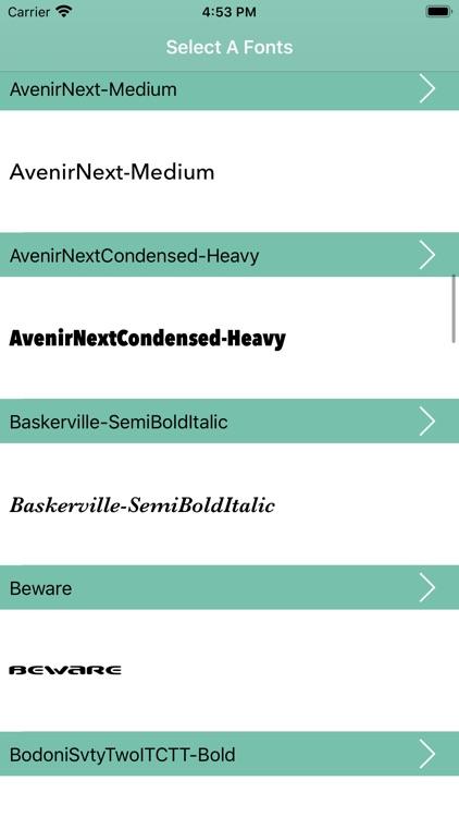 Fonts for Cricut screenshot-3