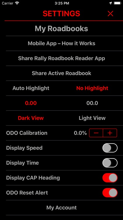 Rally Roadbook Reader screenshot-5