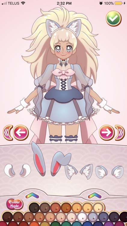 Glitter Cure Anime Dress Up