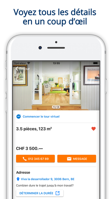 Screenshot #3 pour ImmoScout24 Immobilier Suisse