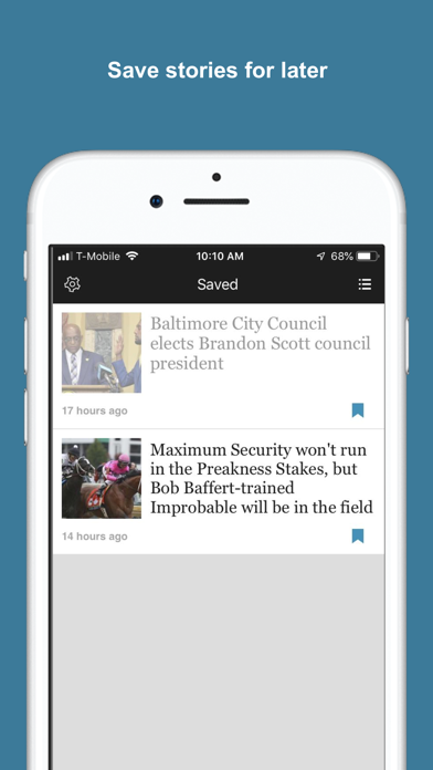 The Baltimore Sun Screenshot