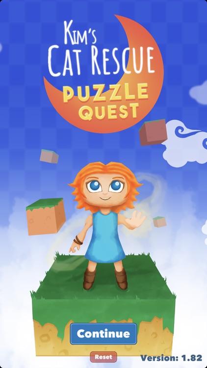 Kim's Cat Rescue: Puzzle Quest screenshot-3