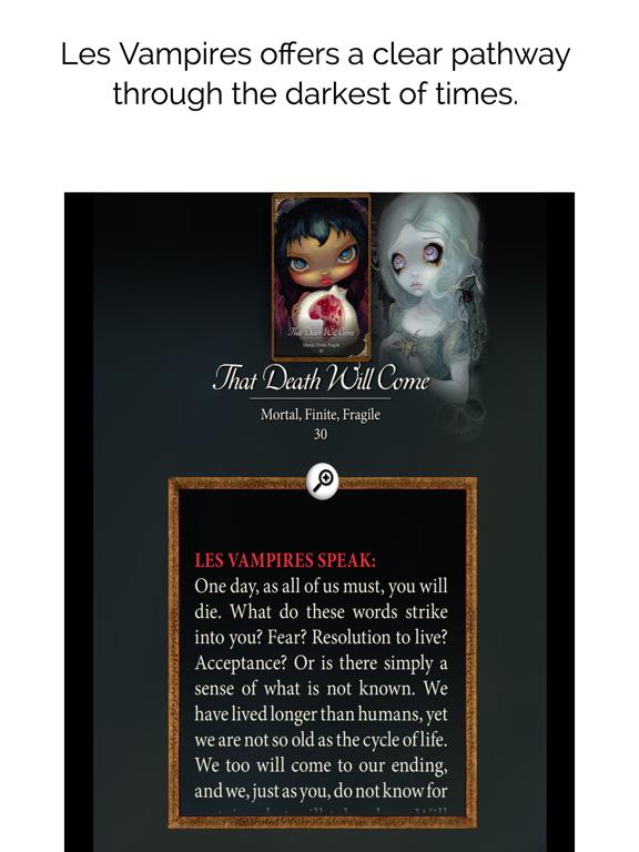 Les Vampires Oracle screenshot 10