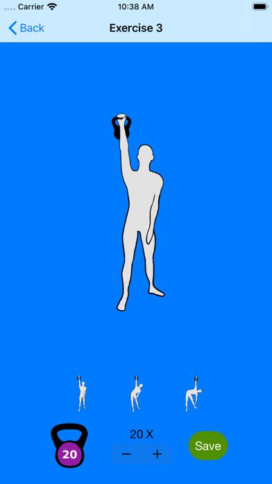 男性用ケトルベルのエクササイズのおすすめ画像7