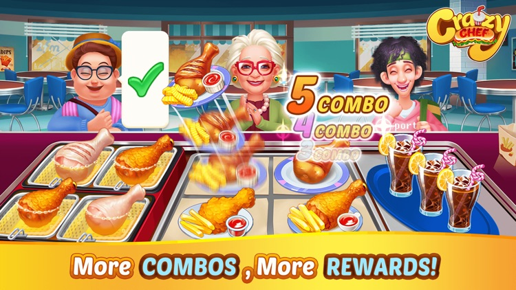 Crazy Chef Cooking Games screenshot-2