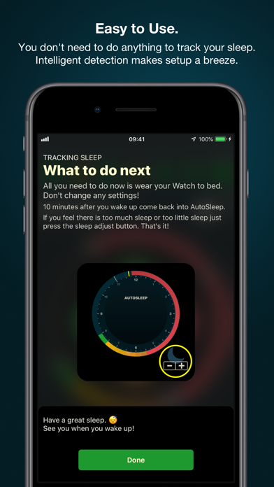 AutoSleep Track Sleep on Watch Screenshot