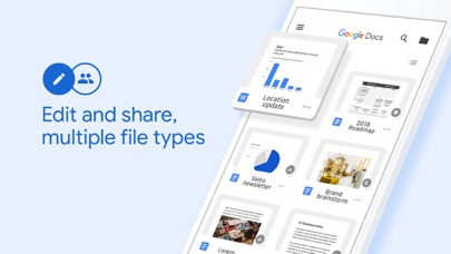 Screenshot for Google Docs: Sync, Edit, Share in United States App Store
