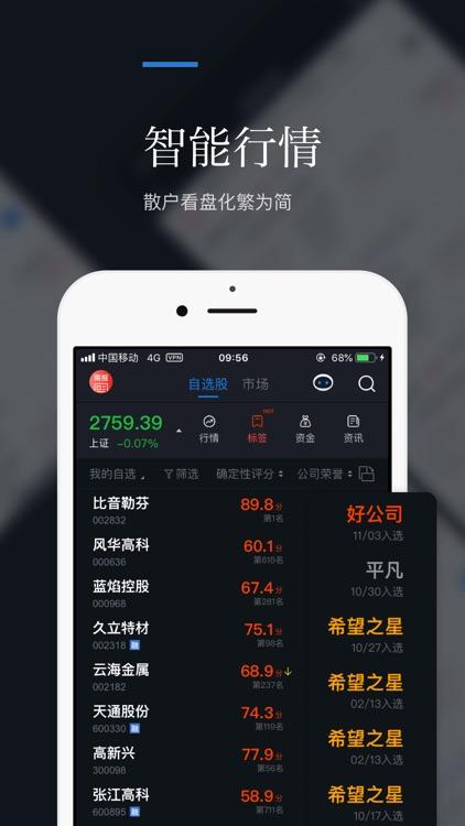 朝阳智投-股票炒股、股市入门智能选股软件 screenshot-3