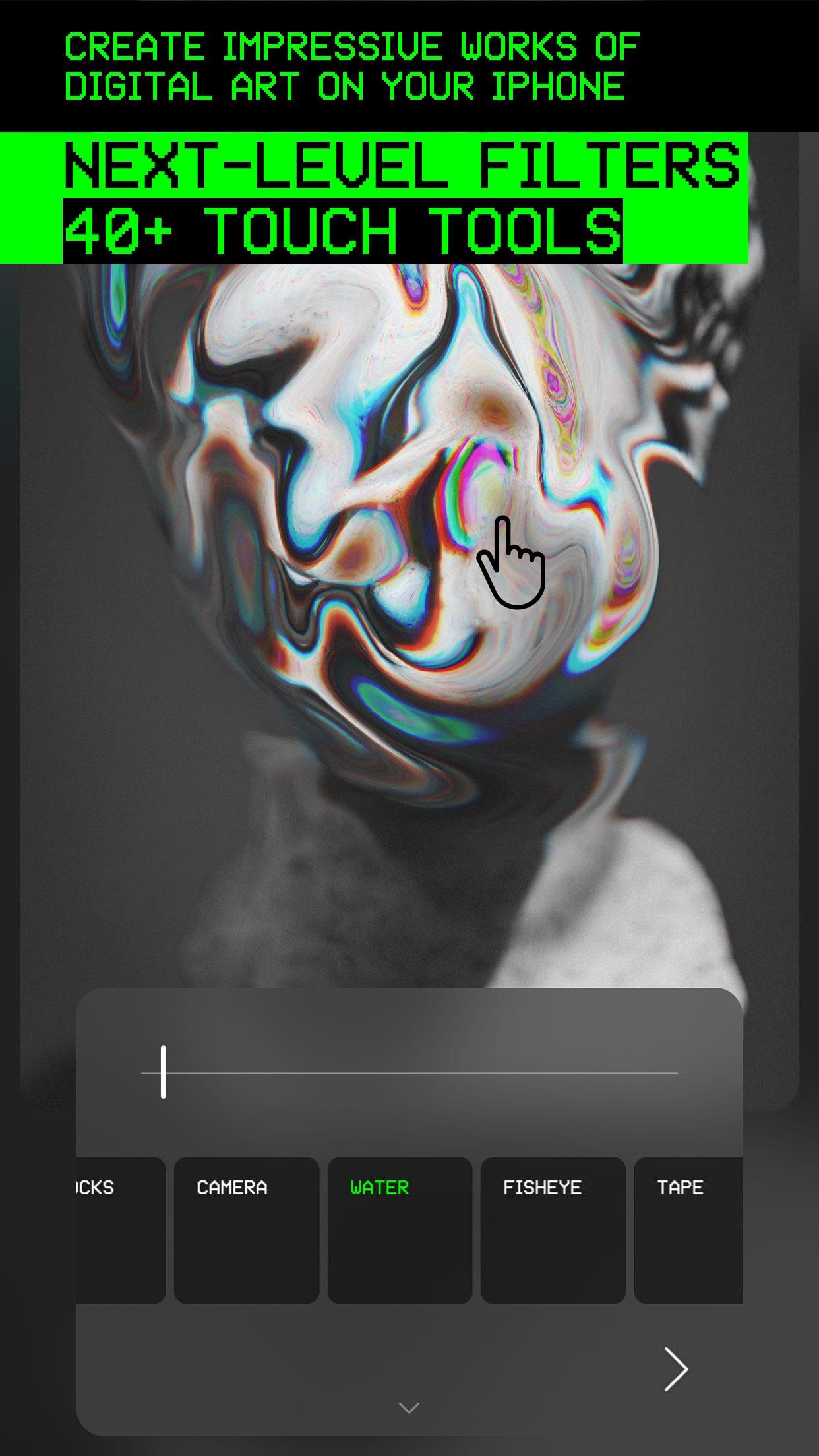 Glitché Screenshot