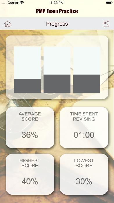 PMP Revision Aid screenshot 5