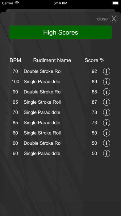 Drummer ITP - Metronome Appのおすすめ画像6