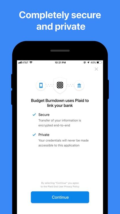 Budget Burndown screenshot-5