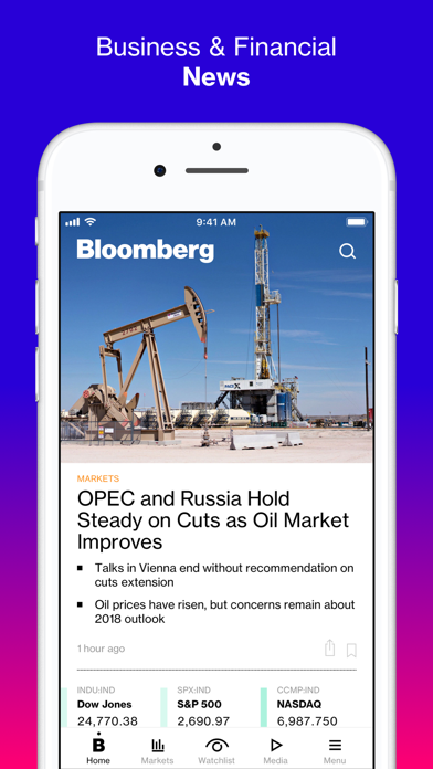 Bloomberg: Business News screenshot one