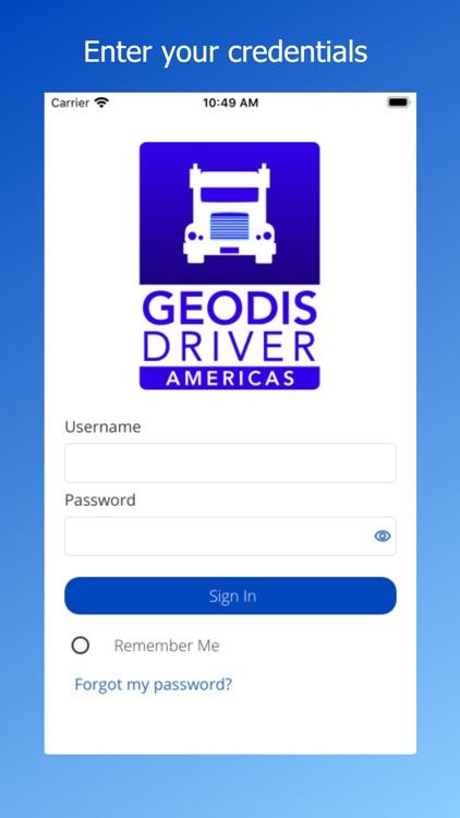 GEODIS Driver