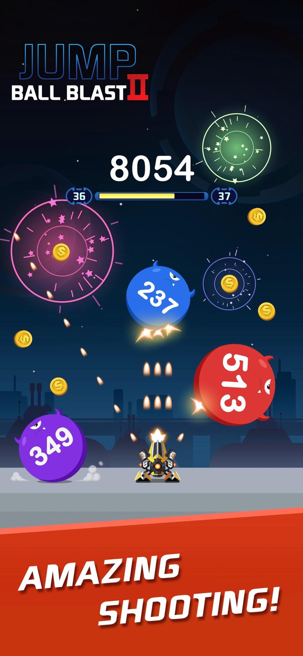 Jump Ball Blast II hack tool