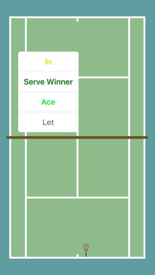 ProTracker Tennis App 截图
