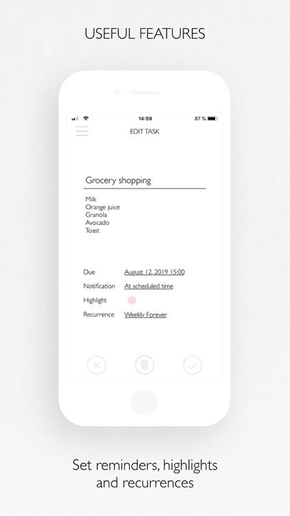 PLANBELLA - Planner App screenshot-5