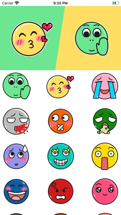 ColorfulBallStickers