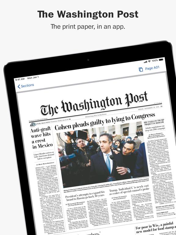 Washington Post Print Editionのおすすめ画像1