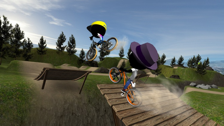 Stickman Bike Battle screenshot-0