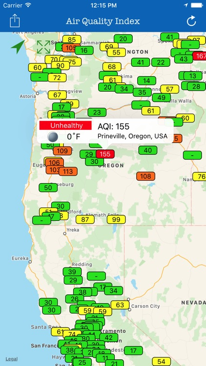 Global Air Quality Index-PM2.5