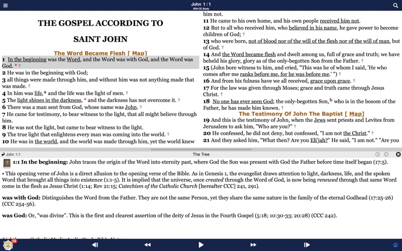 Bible - Catholic Study for Mac