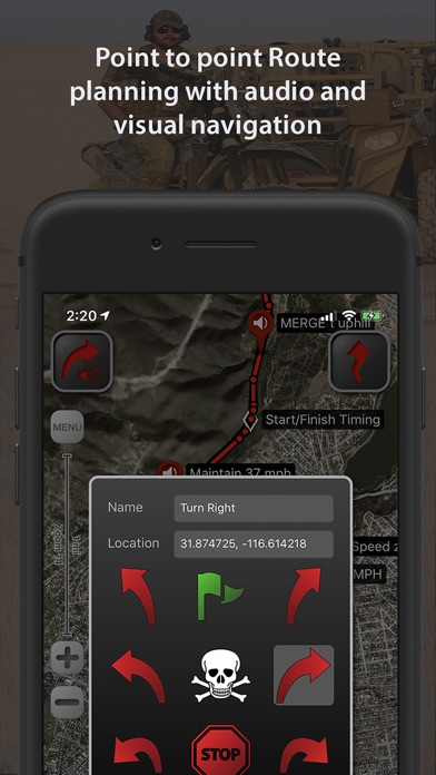 LeadNav GPS Screenshot