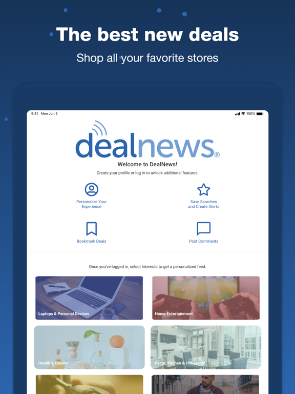 DealNews - Discounts, Sales and Coupons screenshot