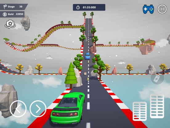 Car Stunts 3D - Sky Parkour screenshot 11