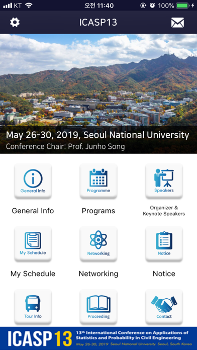 Screenshot for ICASP13 in United States App Store