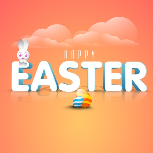 Happy Easter Countdown & Bunny