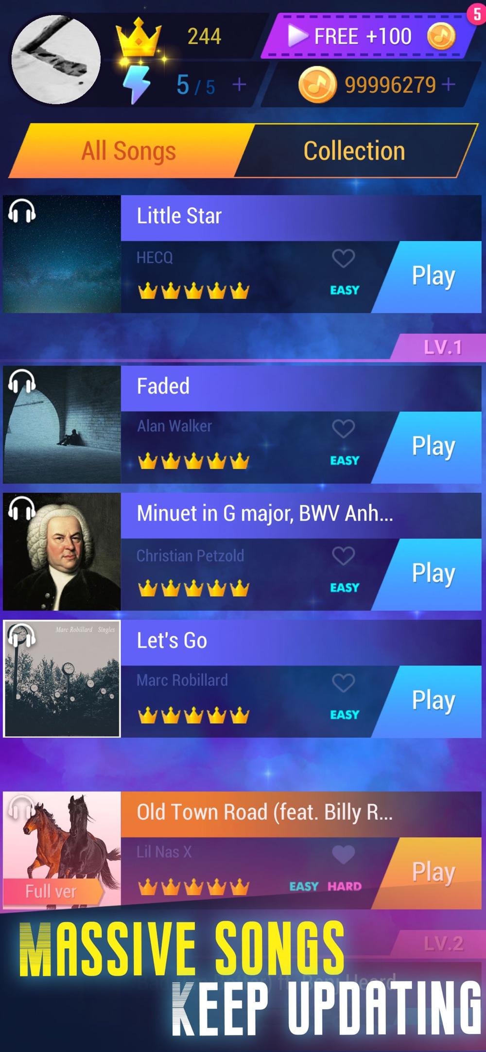 Tap Music 3D Cheat Codes