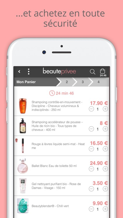 Beauteprivee - Ventes privées screenshot-4