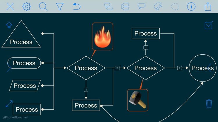 iThoughts2go - Mind Map screenshot-9