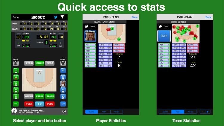iScout Basketball screenshot-4